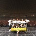 AAAがデビュー12周年の東京ドームで月9主題歌「LIFE」を初披露!